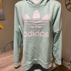 Adidas hoodie - button side